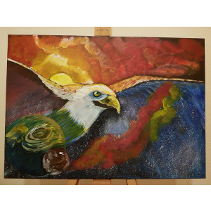 Eagle and the universe
