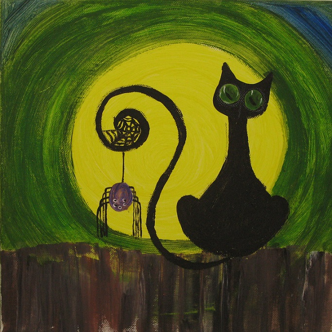 Cat and the Spider