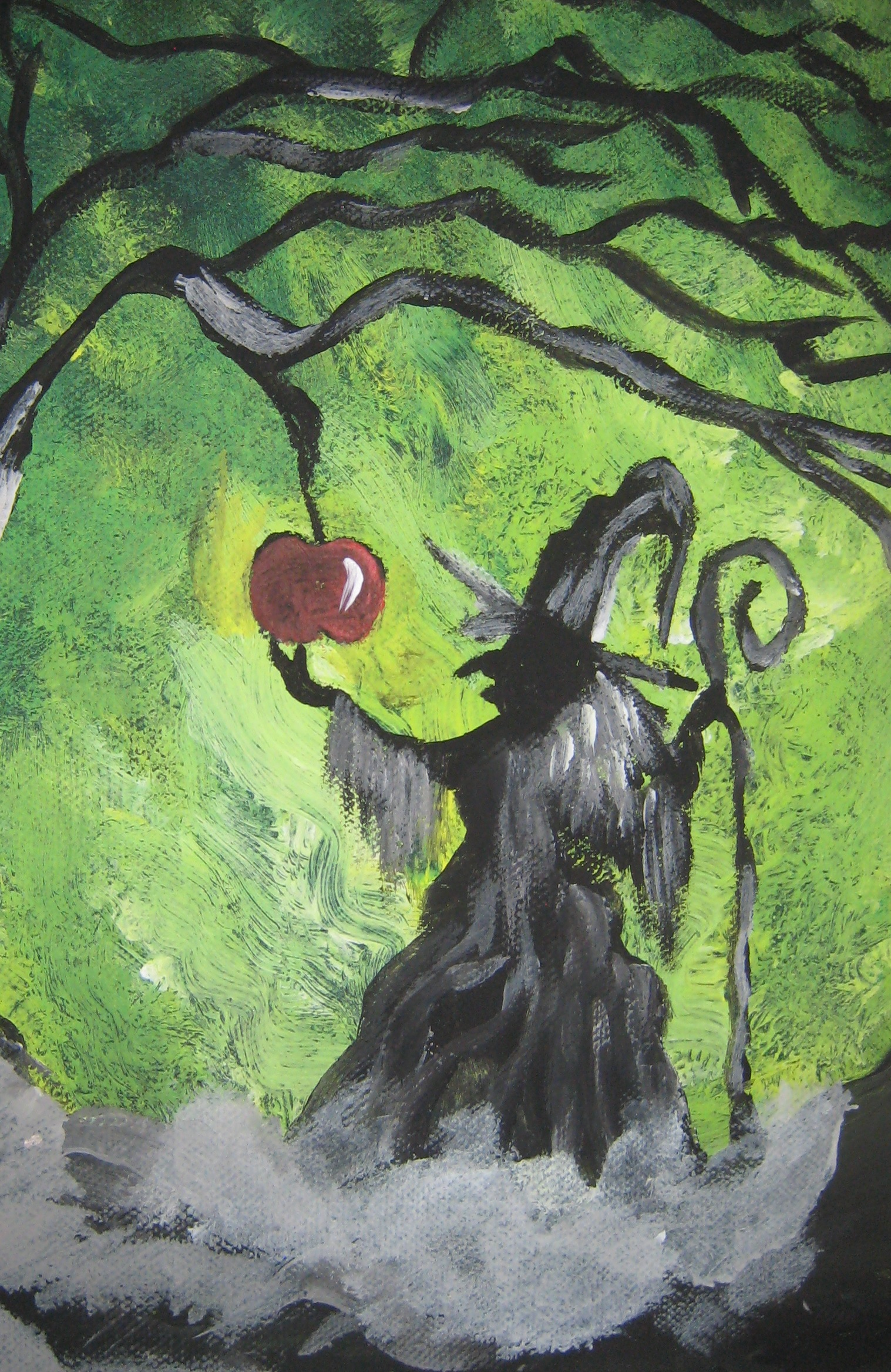 Witch's apple